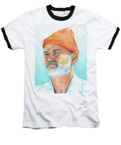 Bill Murray Steve Zissou Life Aquatic Baseball T-Shirt