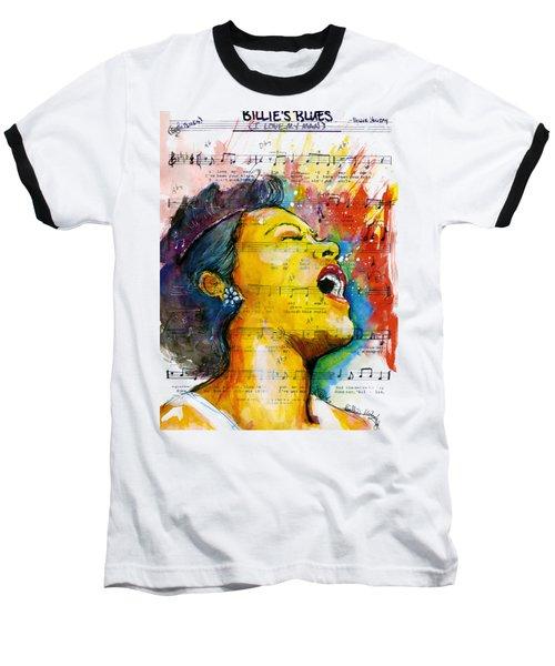 Billie's Blues Baseball T-Shirt