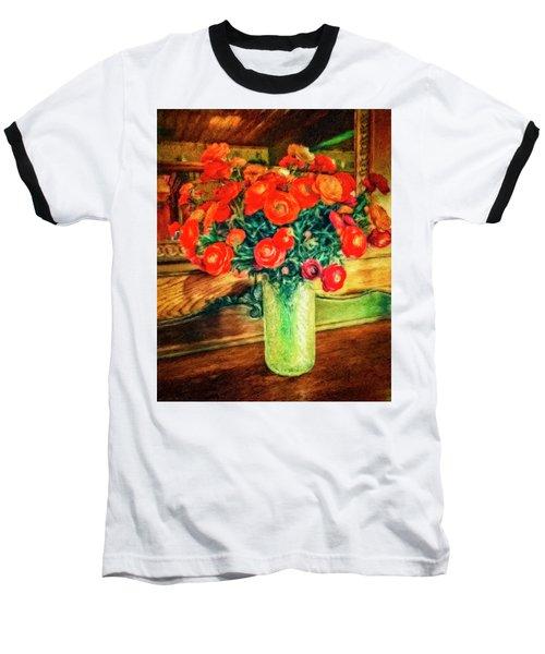 Billy's Flowers Baseball T-Shirt