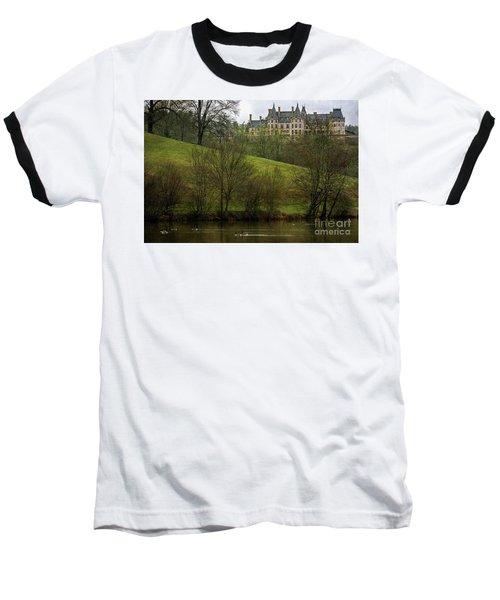 Biltmore Estate At Dusk Baseball T-Shirt