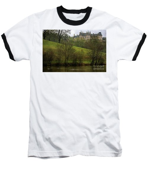 Biltmore Estate At Dusk Baseball T-Shirt
