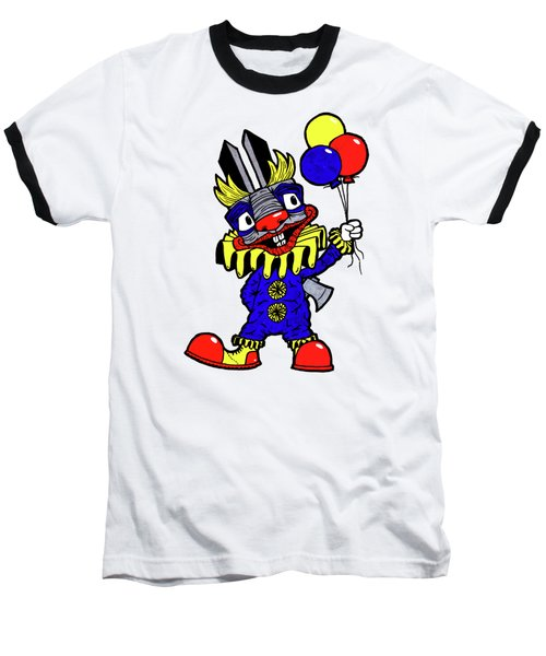 Binky The Bunny Clown Baseball T-Shirt