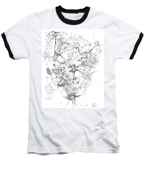Biology Of An Idea Baseball T-Shirt