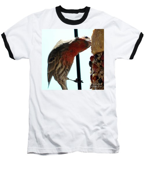 Bird Hits The Jackpot Baseball T-Shirt