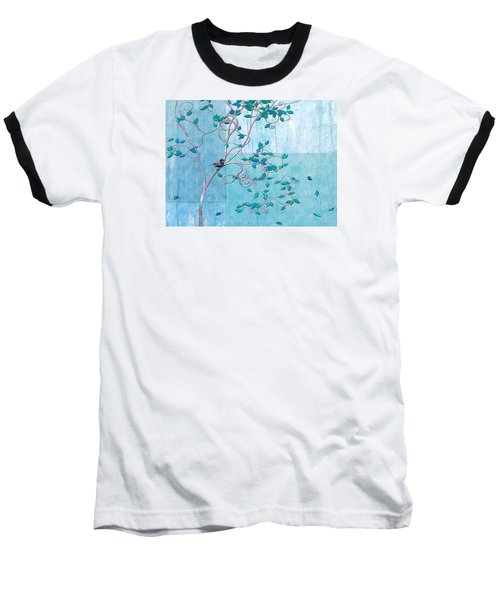 Bird In A Tree-1 Baseball T-Shirt