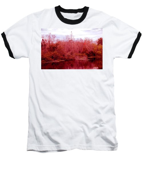 Baseball T-Shirt featuring the photograph Bird Out On A Limb by Madeline Ellis