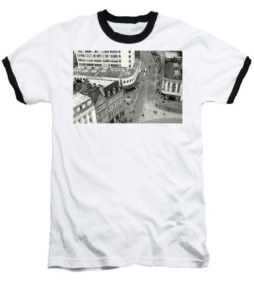 Birds Eye View Baseball T-Shirt