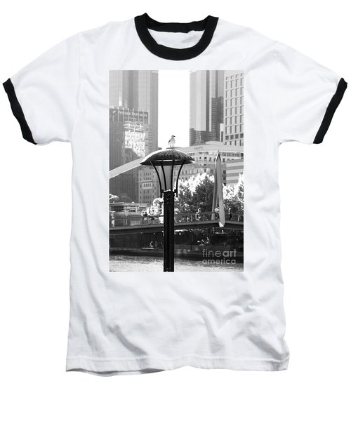 Birds Eye View Of The City Baseball T-Shirt