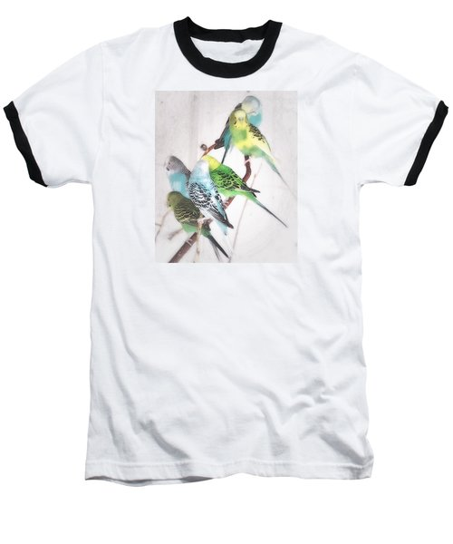 Baseball T-Shirt featuring the photograph Birds Of A Feather by Robin Regan