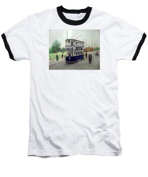 Birmingham Tram With Figures Baseball T-Shirt