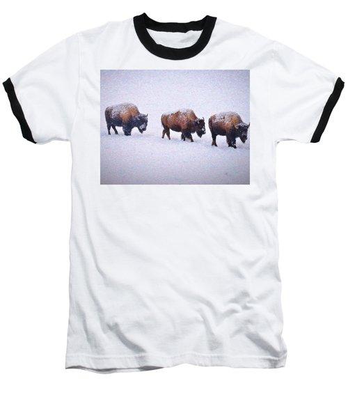 Bison March Impressions Baseball T-Shirt