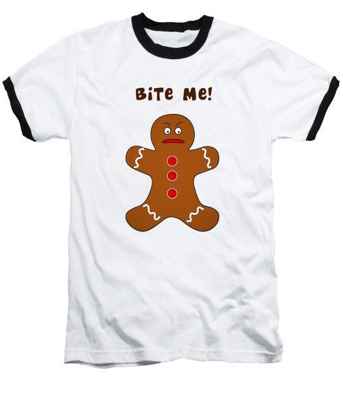 Bite Me Baseball T-Shirt