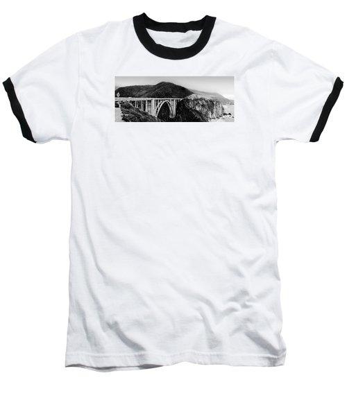 Bixby Bridge - Big Sur - California Baseball T-Shirt