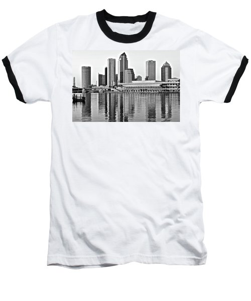 Black And White In The Heart Of Tampa Bay Baseball T-Shirt