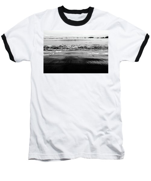 Black Beach  Baseball T-Shirt