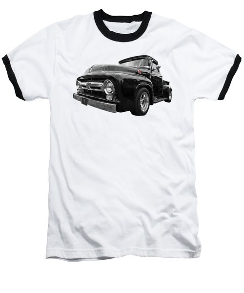 Black Beauty - 1956 Ford F100 Baseball T-Shirt