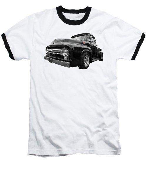 Black Beauty - 1956 Ford F100 Baseball T-Shirt