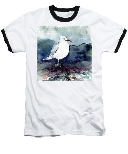 Black-billed Gull Baseball T-Shirt