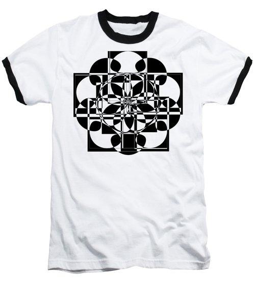 Black Cross Baseball T-Shirt