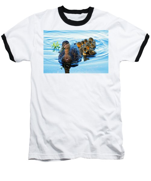 Black Duck Brood Baseball T-Shirt