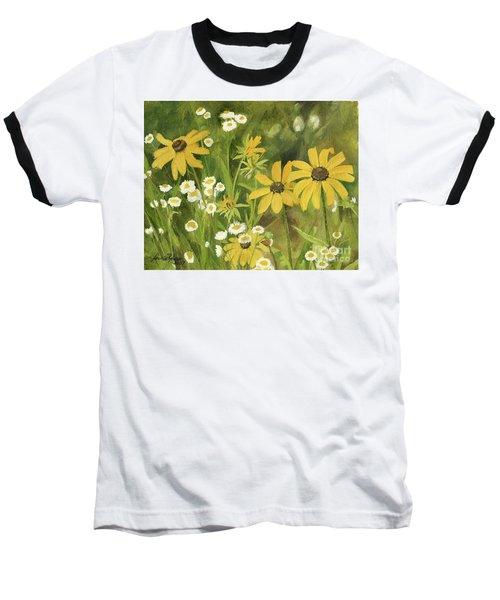Black-eyed Susans In A Field Baseball T-Shirt