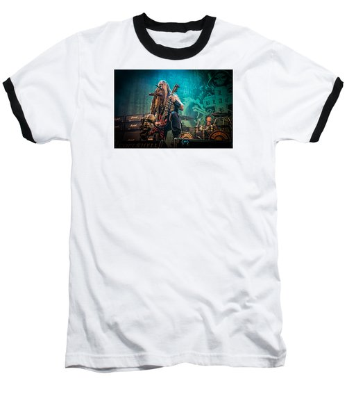 Baseball T-Shirt featuring the photograph Black Label Society by Stefan Nielsen