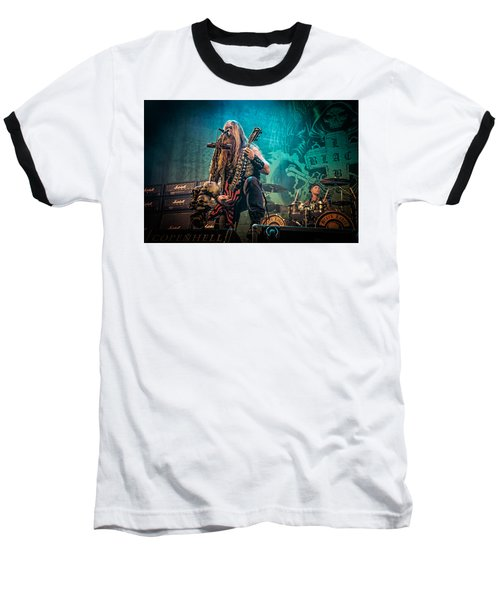 Black Label Society Baseball T-Shirt