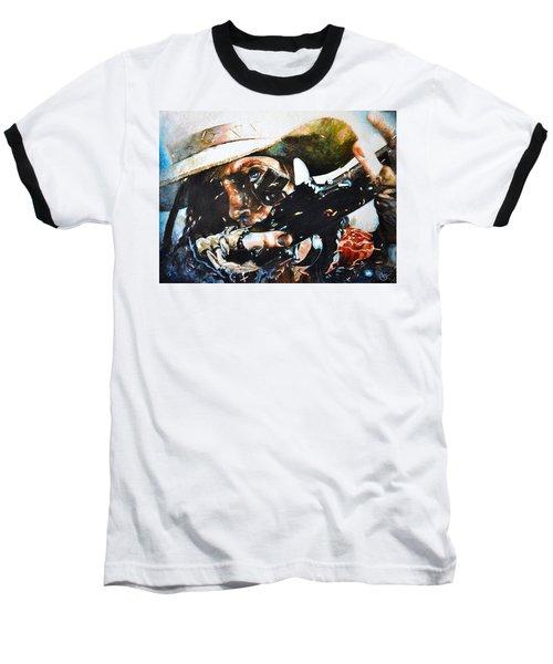 Black Powder Baseball T-Shirt