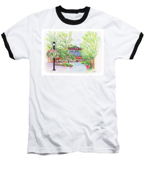 Black Sheep On The Plaza Baseball T-Shirt