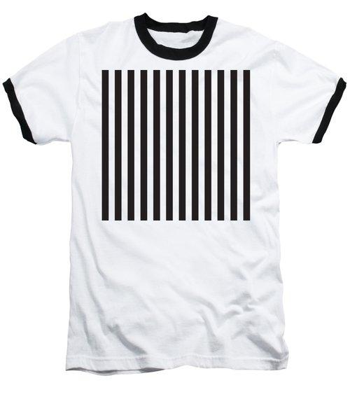 Black Stripes Baseball T-Shirt