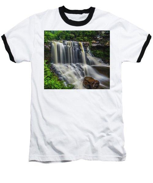 Black Water Falls Baseball T-Shirt