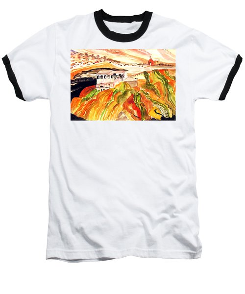 Black Waters Of The Andes Baseball T-Shirt
