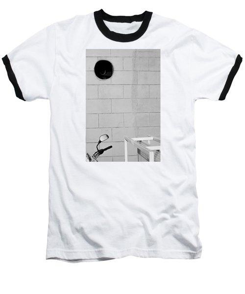 Black White Grey Baseball T-Shirt by Prakash Ghai