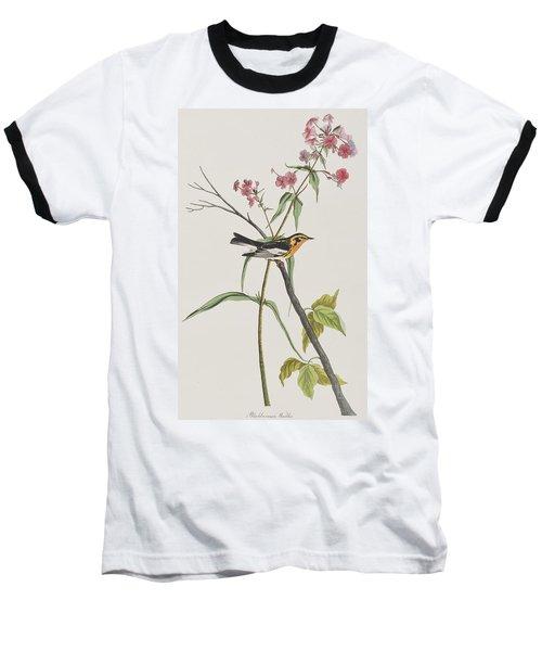 Blackburnian Warbler Baseball T-Shirt