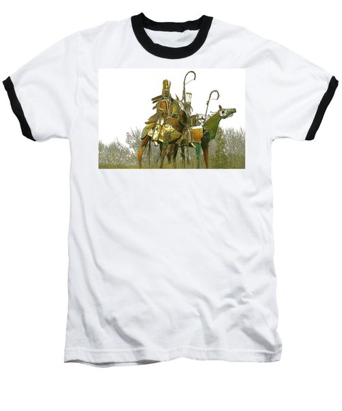 Blackfeet Wariors Baseball T-Shirt