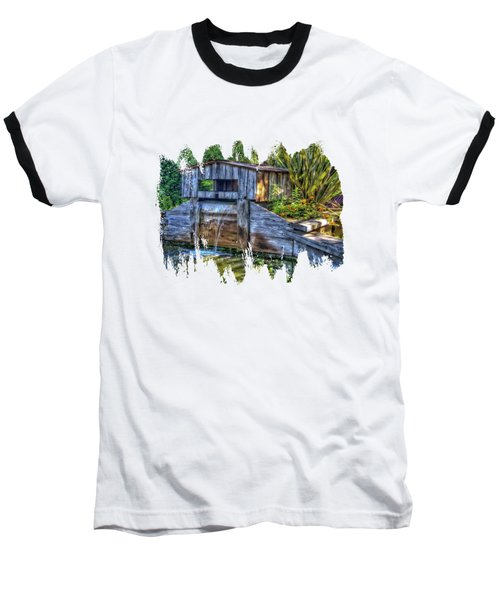 Baseball T-Shirt featuring the photograph Blakes Pond House by Thom Zehrfeld