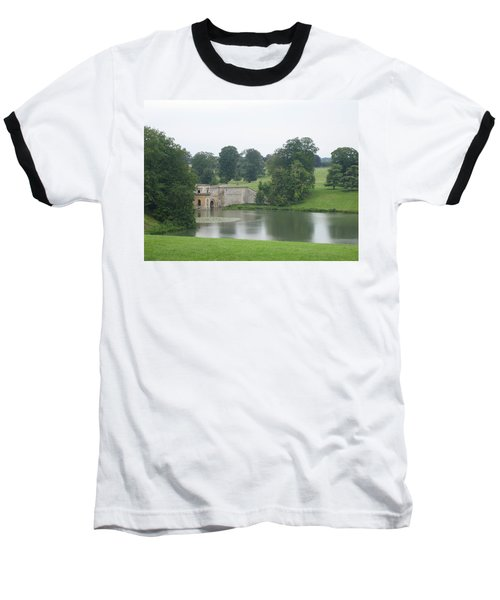 Blenheim Palace Lake Baseball T-Shirt