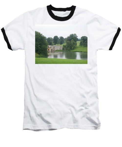 Blenheim Palace Lake Baseball T-Shirt