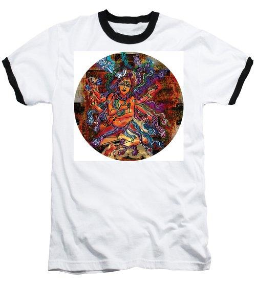 Blessing Shiva Baseball T-Shirt