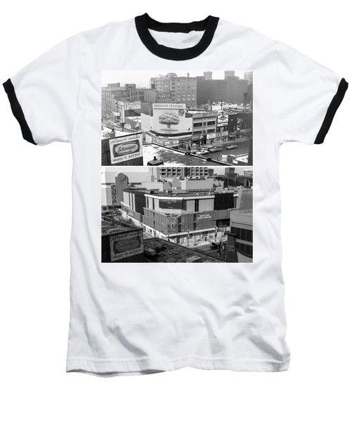 Block 'e' In Minneapolis Baseball T-Shirt