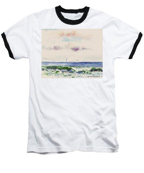 Block Island Sound Baseball T-Shirt