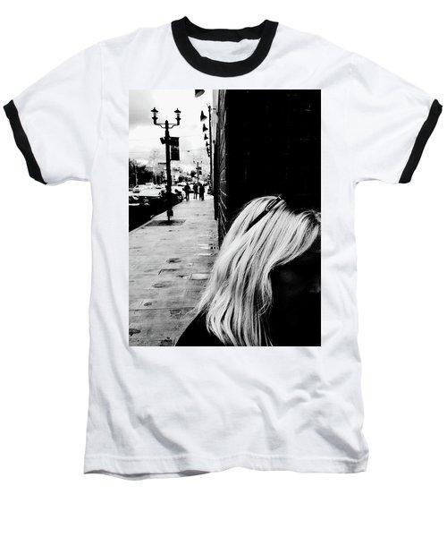Blonde Mystery Baseball T-Shirt
