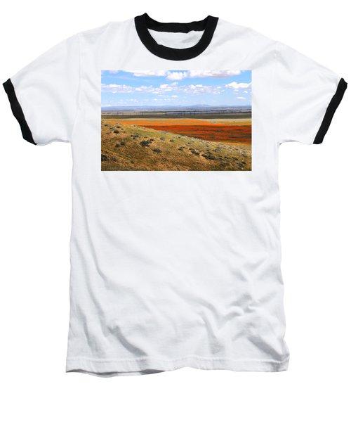 Blooming Season In Antelope Valley Baseball T-Shirt by Viktor Savchenko