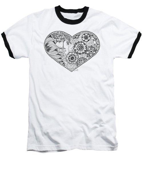 Blooms Baseball T-Shirt