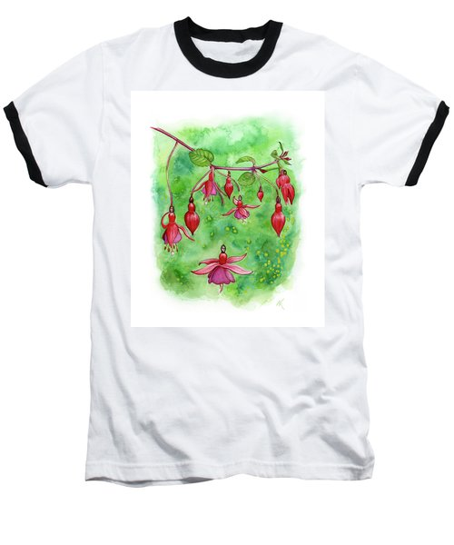 Blossom Fairies Baseball T-Shirt