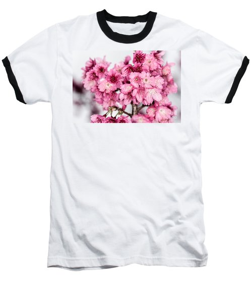 Blossoms 3 Baseball T-Shirt