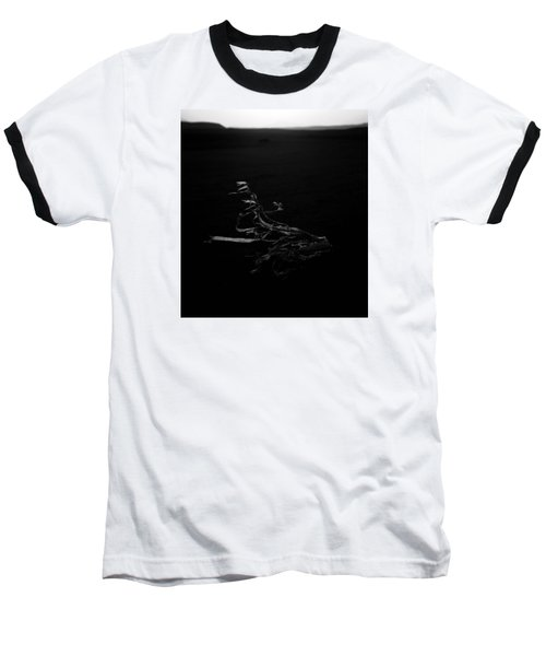 Baseball T-Shirt featuring the photograph blow away England  by Jez C Self