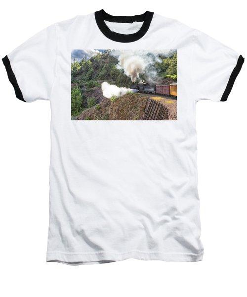 Blowing Down 481 Baseball T-Shirt