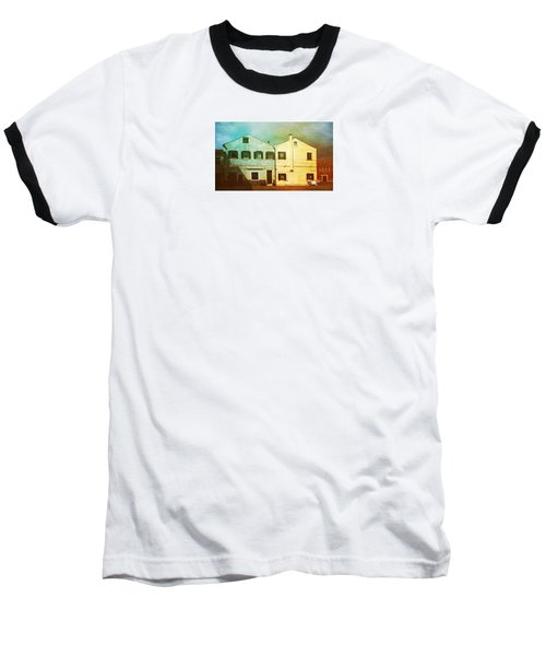 Baseball T-Shirt featuring the photograph Blowing In The Wind by Anne Kotan