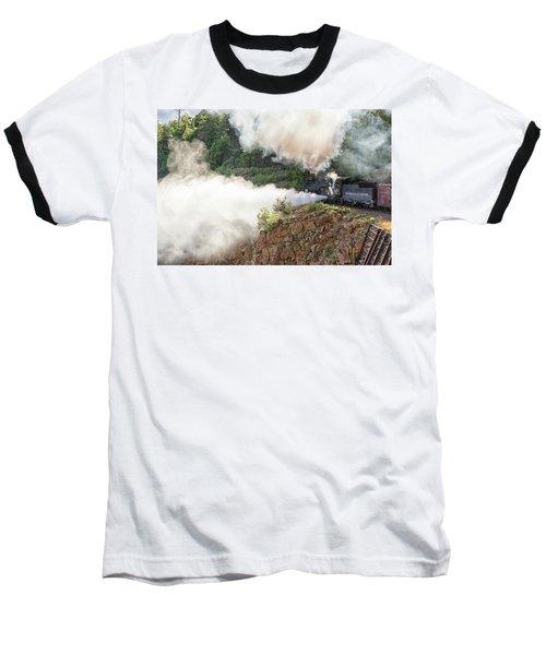 Blowing Off Steam Baseball T-Shirt